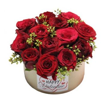 Ain Saadeh flowers  -  12 Times Flower Delivery