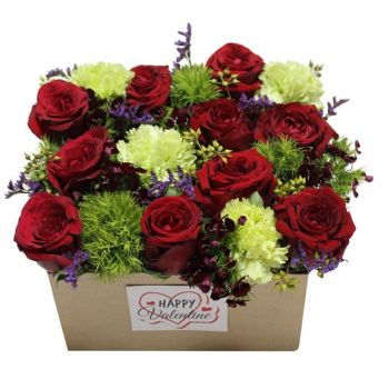 Hazmieh flowers  -  Love me Tender Flower Delivery