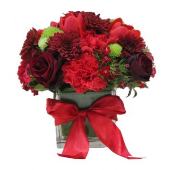 Hboub flowers  -  Passionate Love Flower Delivery