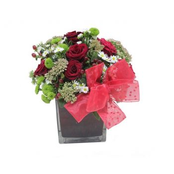 Qubayyat flowers  -  Because I care Flower Delivery
