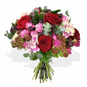 Bristol flowers  -  Pink Panther Flower Bouquet/Arrangement