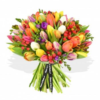 Leeds online Florist - Candy splash Bouquet