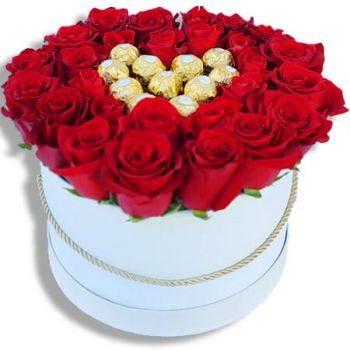 Santa Cruz das Flores flowers  -  Amour Amour Flower Delivery