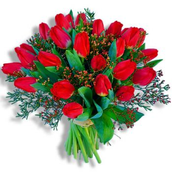 Estoril Floristeria online - Red Temptation Ramo de flores