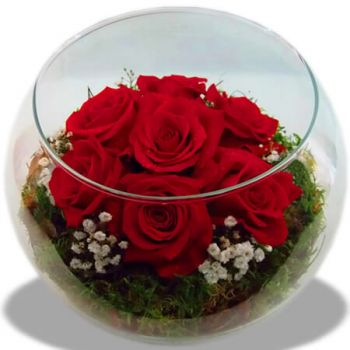Santa Cruz das Flores flowers  -  Love at Seaside Flower Delivery