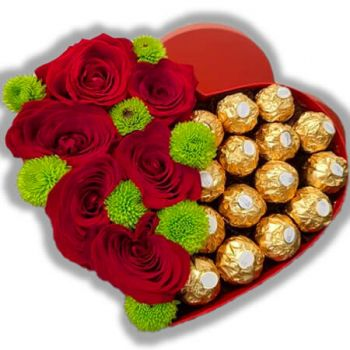 Arenal flowers  -  YinYang with Love Flower Delivery
