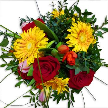 Illetes flowers  -  Colourful love bouquet Flower Delivery