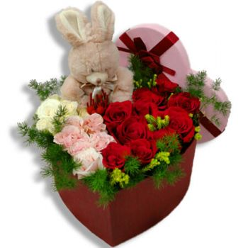 Almatriche flowers  -  Love bunny Flower Bouquet/Arrangement
