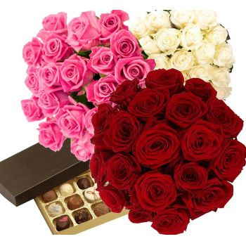 Saint Petersburg flowers  -  Your special choice  Flower Delivery