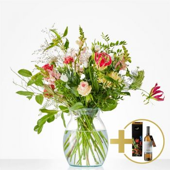 Amsterdam flowers  -  Bouquet to toast Flower Delivery