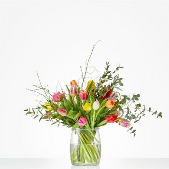 The Hague online Florist - Bouquet Blooming tulip Bouquet