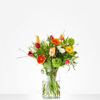 Amsterdam online Florist - Bouquet Colorful appearance Bouquet