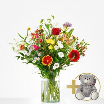 Beringe flowers  -  Attractive Bouquet Flower Delivery