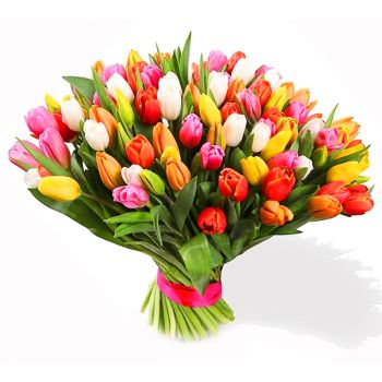 Saint Petersburg flowers  -  Thousand and one night Flower Bouquet/Arrangement