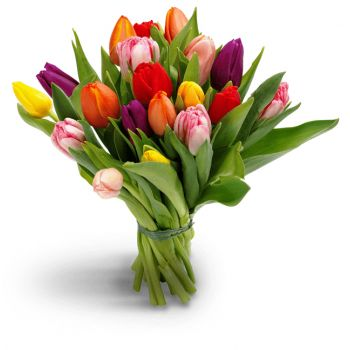 Kiev flowers  -  Spring time Flower Bouquet/Arrangement