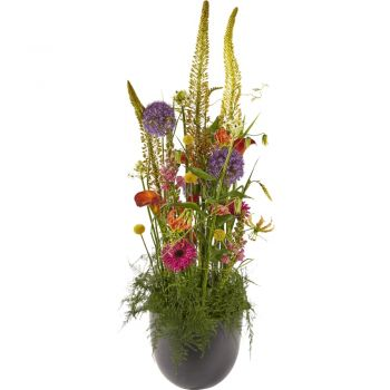 Made flowers  -  Luxury Colorful Flower Arrangement Delivery