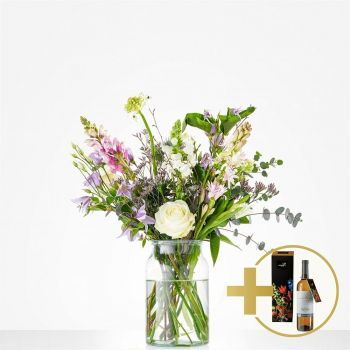 Britsum flowers  -  Bouquet Sparkling spring Flower Delivery