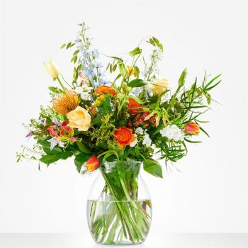 Naaldwijk flowers  -  Bouquet Happy spring Flower Delivery