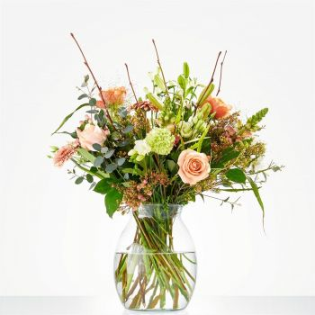 Britsum flowers  -  Bouquet Gentle spring Flower Delivery