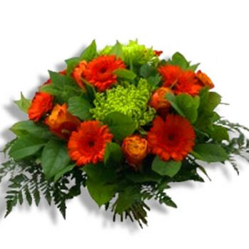 Tubize flowers  -  Orange Flower Delivery