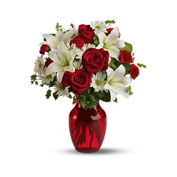 fleuriste fleurs de Beyrouth- Love Bird Bouquet/Arrangement floral
