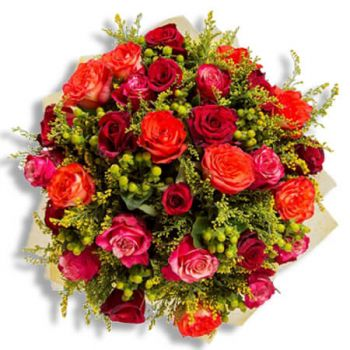 Binche flowers  -  Stay safe Flower Delivery