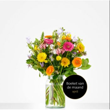 Naaldwijk flowers  -  Monthly bouquet April Flower Delivery
