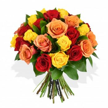 Bridgend flowers  -  Summer kiss Flower Delivery