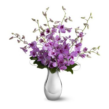 Ajman online Florist - Beautiful Purples Bouquet