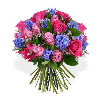 Wrexham flowers  -  Pink Ocean Flower Delivery