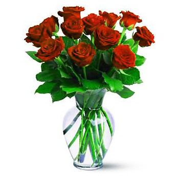 Al Muharraq flowers  -  Red Sunset Flower Delivery