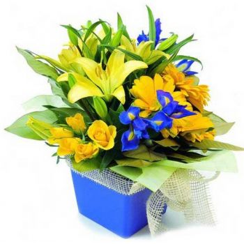 Ponta do Sol Online blomsterbutikk - Happy Face Bukett