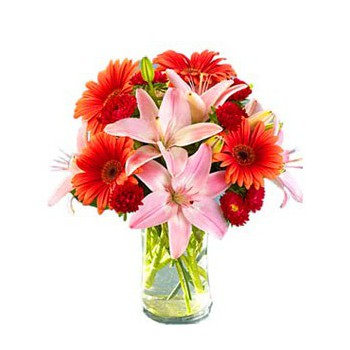 South Korea online Florist - Sangria Bouquet