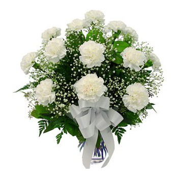 Bijela flowers  -  Simple Delight Flower Delivery