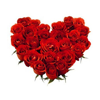 Sheffield online Florist - Precious Heart Bouquet