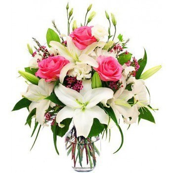 Oslo flowers  -  Pretty Pink Flower Bouquet/Arrangement