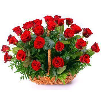 Casablanca flowers  -  Ruby Amore Flower Delivery