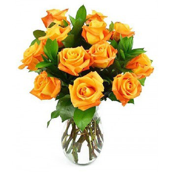 Trondheim flowers  -  Soft Roses Flower Bouquet/Arrangement