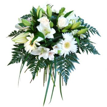 Spain flowers  -  White Beauty Flower Delivery
