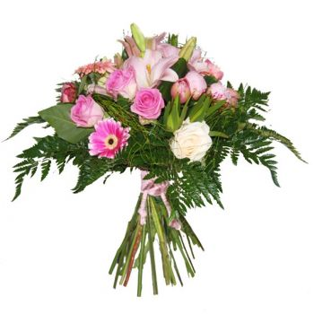 Valladolid flowers  -  Pink Blush Flower Bouquet/Arrangement
