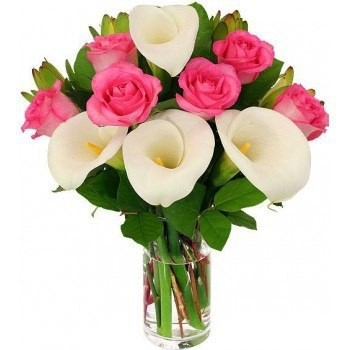Casablanca flowers  -  Scent of Love Flower Bouquet/Arrangement