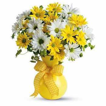 Samara flowers  -  Sun Rays Flower Bouquet/Arrangement