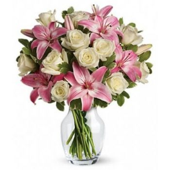 Abu Dhabi flowers  -  Happy Flower Bouquet/Arrangement