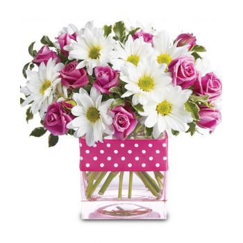 South Korea flowers  -  Love Dance Flower Delivery