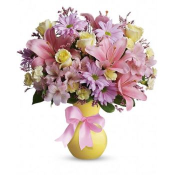 Abu Dhabi flowers  -  Victorian Romance Flower Bouquet/Arrangement