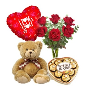Abu Dhabi online Florist - Romance and Love Bouquet