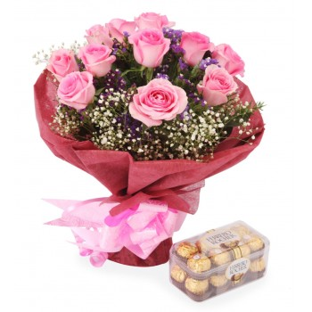 Umm Al Quwain online Florist - Romance and Love Bouquet