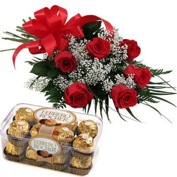 Ajman online Florist - In the name of Love Bouquet
