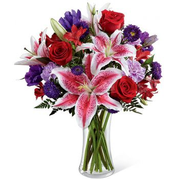 fleuriste fleurs de DIFC- Douce perfection Bouquet/Arrangement floral