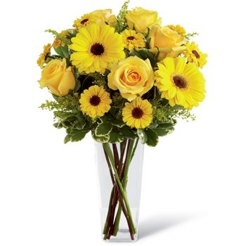 St. Lucia flowers  -  Affection Flower Bouquet/Arrangement